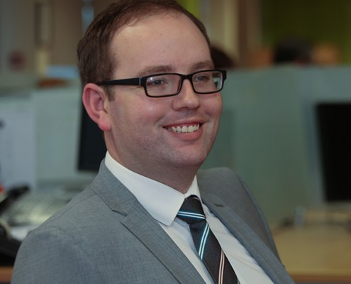 Darren Holmes - Project Management Team Lead