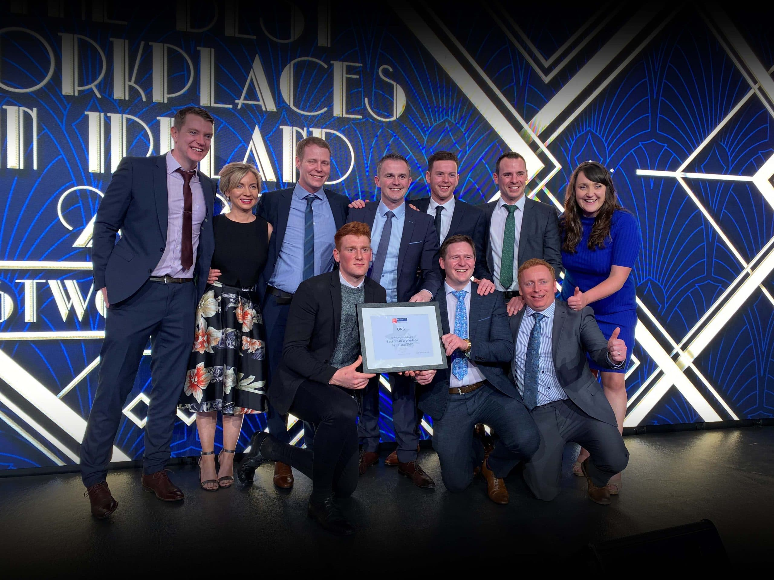 ORS IS ONE OF THE BEST WORKPLACES IN IRELAND FOR THE 2ND CONSECUTIVE YEAR